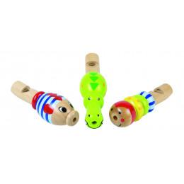 Mini houten fluitje - vanaf 3 jaar