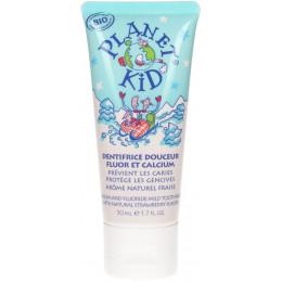 Zachte tandpasta met fluor en calcium - 50 ml