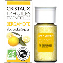 Essentiële olie kristallen - Culinair - Bergamot - 10g