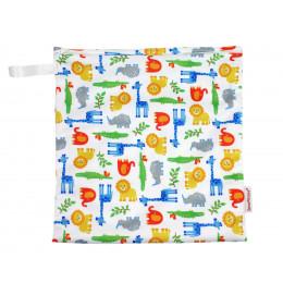Universele wet bag - Medium - Zipper - Wildlife