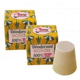 2x Solide deodorant - Palmarosa