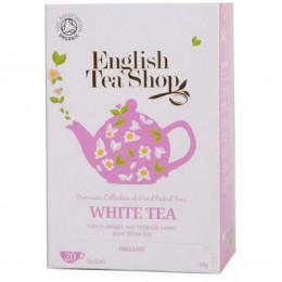 Witte thee Bio en Fairtrade 20 theebuiltjes