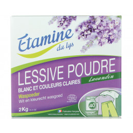 Waspoeder Lavendel - wit en lichte kleuren - 2 kg