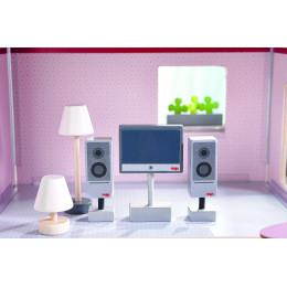 Poppenhuis Accessoires Televisie en Lampen - Little Friends