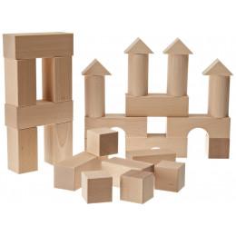 Houten bouwstenen - Vanaf 1 jaar