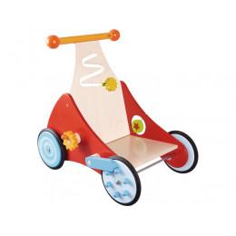 Houten Loopwagen Kinderen - Klik Klak