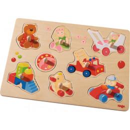 Leuke Houten Inlegpuzzel - Mijn Eerste Speelgoed