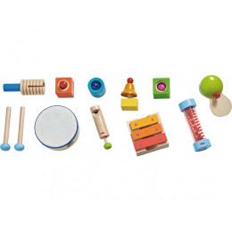 Houten Speelgoed Muziekset - 12 Instrumenten