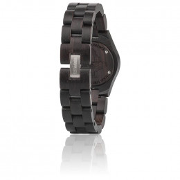 Houten horloge Moon Deneb Black