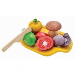 Houten assortiment groenten - vanaf 18 maanden