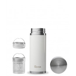 Teamug - Thermos voor thee - Wit - 300 ml