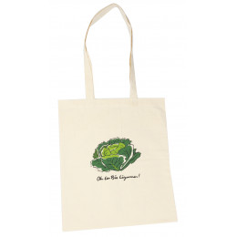 handige tote bag in bio katoen