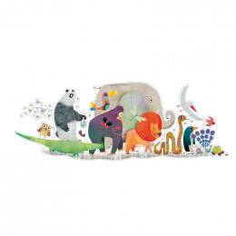 Grote Puzzel Dierenparade - 36 Stuks