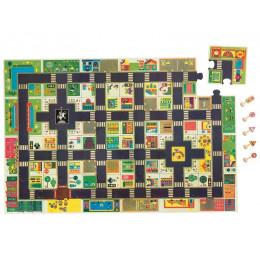 Gigantische Vloerpuzzel De Stad - 24 Stukken