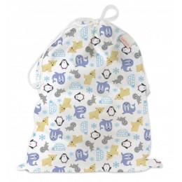 Universele wet bag - Large - Drawstring - Snowland