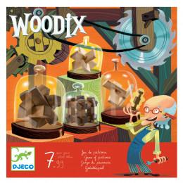 Uitdagend Behendigheidsspel - Houten Hersenbrekers - Woodix