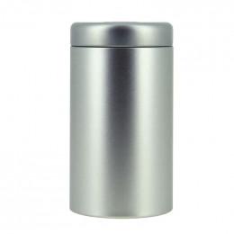Metalen doosje om thee te bewaren
