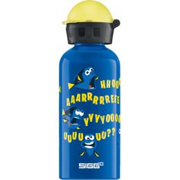 Drinkfles in aluminium - 400 ml - grappig Dory
