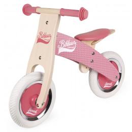 Roze loopfiets Little Bikloon - vanaf 2 jaar