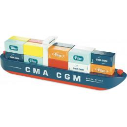 Houten containerschip Vilacity - vanaf 3 jaar