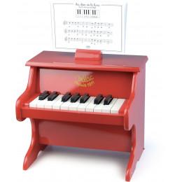 Rode piano - vanaf 3 jaar