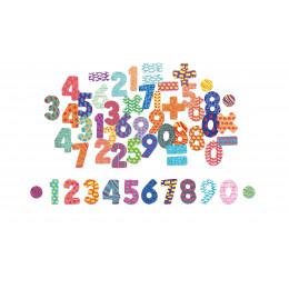 Houten magneten 'cijfers' - vanaf 3 jaar