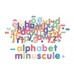 Houten magneten 'kleine letters' - vanaf 3 jaar