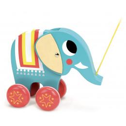 Trekdier 'Vito de olifant' - Ingela P. Arrhenius - vanaf 1 jaar