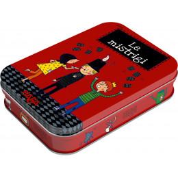 Zwarte Piet Kaartspel in blikken doosje