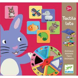Sensitief Lotto Spel Tactilo - Dieren