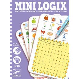 Denkspel Mini Logix 'Engelse woordenzoeker' - vanaf 6 jaar