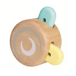 Pastelkleurige kiekeboe roller - vanaf 6 maanden