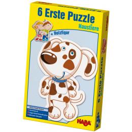 6 Eerste Puzzels - Huisdieren