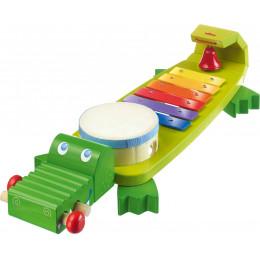 Muziekspeelgoed - Klankkrokodil