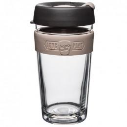Dubbelwandig glazen beker - Long play - Large - 454 ml