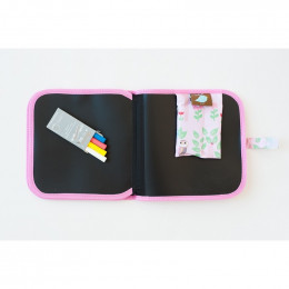 Krijtkleurboek - Doodle It & Go - Uilen