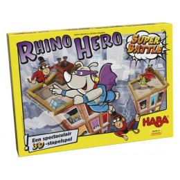 Spectaculair Stapelspel - Rhino Hero Super Battle