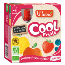 CoolFruit's Appel - aarbei - bosbes 4 pack