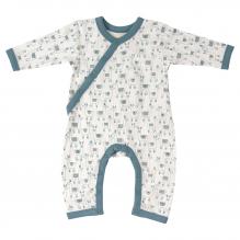 pyjama in biokatoen met lama's