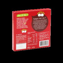 Rijstwafels met chocolade en hazelnoten - 6 zakken