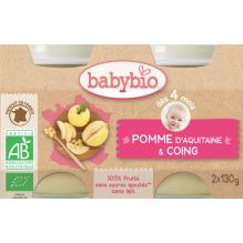 Appel-kweepeer (vanaf 4 maanden) - pack van 2 potjes