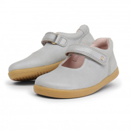 Chaussures Step Up - Mary Jane Blanc à pois dorés 727205