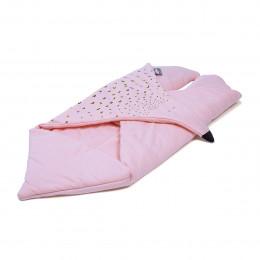 Baby slaapzak in biologisch katoen 76 x 40 cm Roze