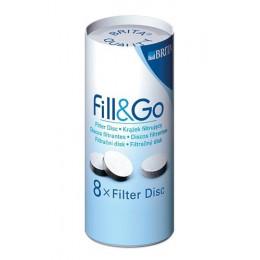 """Filter disk """"Fill & Go"""" - 8 stuk"""