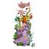 Reuze vloerpuzzel jungledieren vanaf 4 jaar