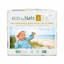 4 X Ecologische wegwerpluiers - Maat 4 Maxi - 7 tot 18kg (108 stuks)