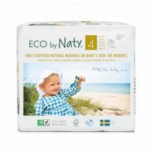 4x Eco luiers - Maat 4 (7-18kg) - 108 stuks