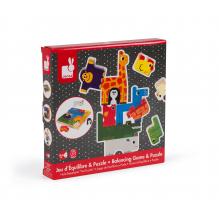 Evenwichtsspel en puzzel vanaf 18 maanden