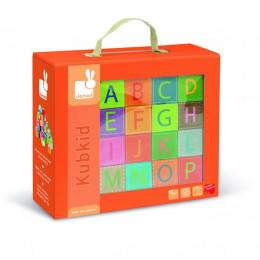 """Kubkid """"alfabet"""" blokken - vanaf 2 jaar"""