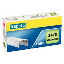 Gegalvaniseerde nietjes Rapid 24/6 - Pack van 1000 !